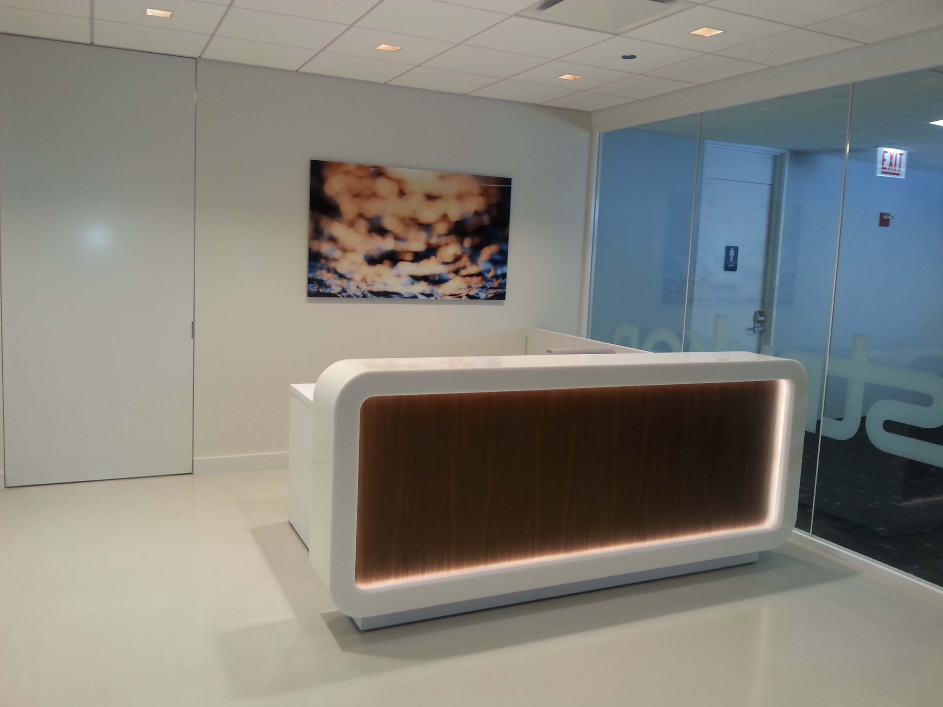 STRYKER RECEPTION DESK