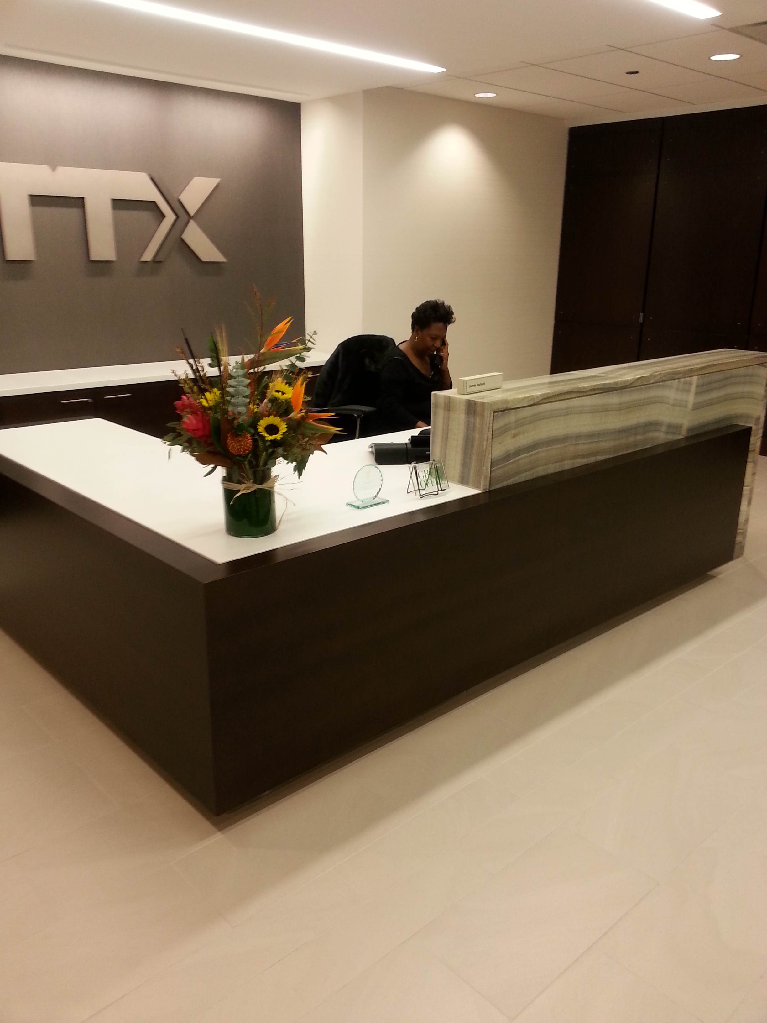 TTX RECEPTION DESK #2