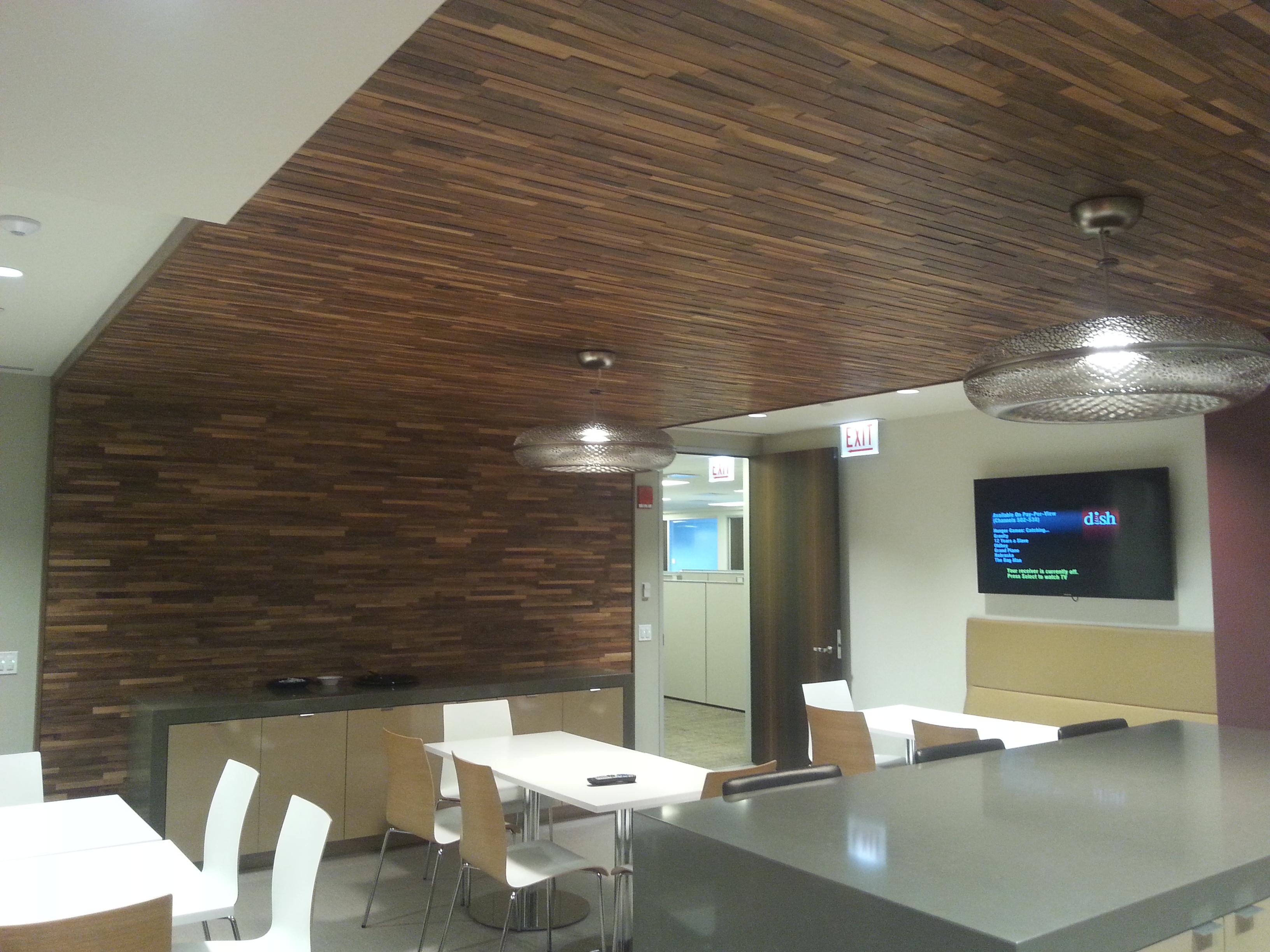 Walnut Cafe Ceiling #2